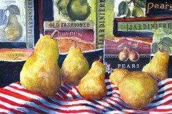 Elaine Tweedy - Pear Collage