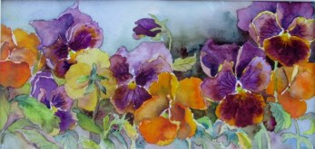Elaine Tweedy - Pansy Melody (SOLD)